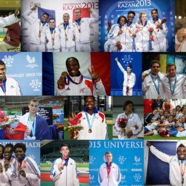 Les Universiades, un tremplin pour les futurs champions !