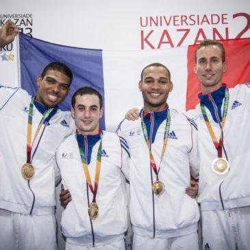 Retour sur la 27ème Universiade de Kazan 2013 !