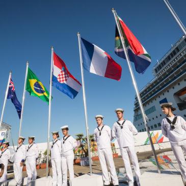 Le drapeau tricolore flotte sur Naples !