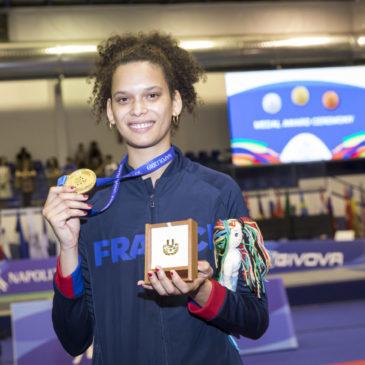 La première médaille d'or française est là !